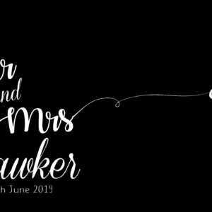 Mr Mrs Hawker